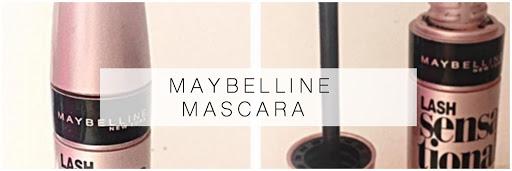 Maybelline: lash sensational mascara