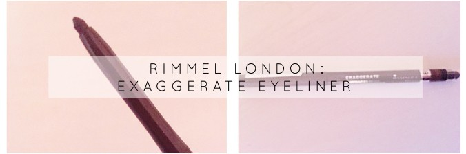 Rimmel Brown eyeliner