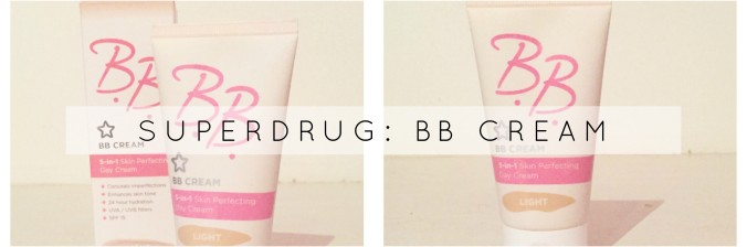 Superdrug bb cream