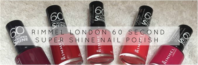 Rimmel london 60 sec nails