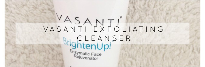 Vasanti exfoliating cleanser