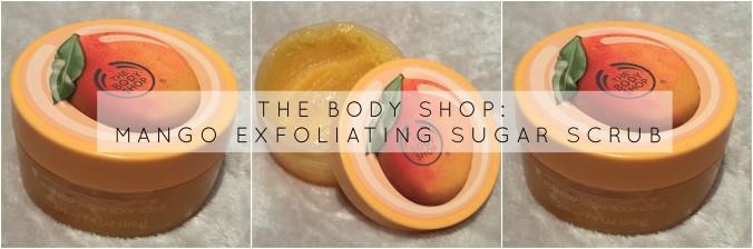 Body Shop Mango Exfoliator