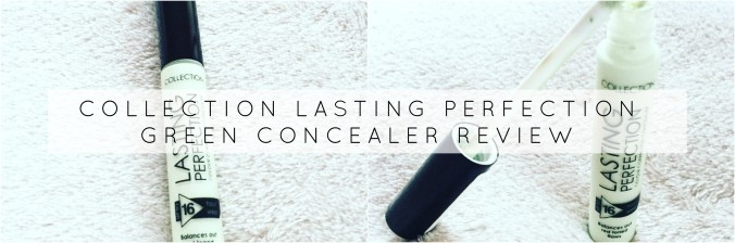 Collection green concealer